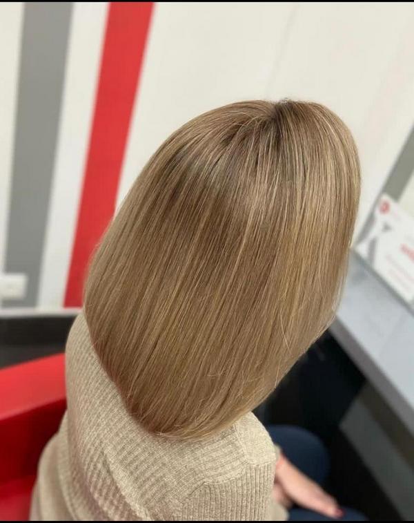 Русые волосы новогодняя прическа