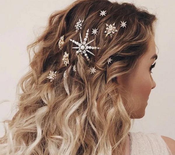 Новогодняя укладка волос