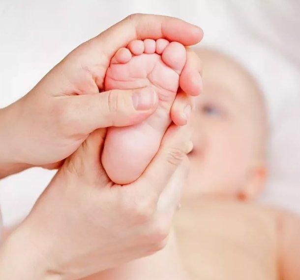 массаж для ребенка