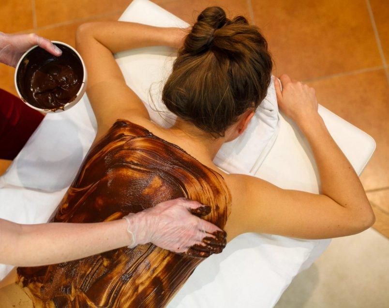 шоколадное обертывание для тела