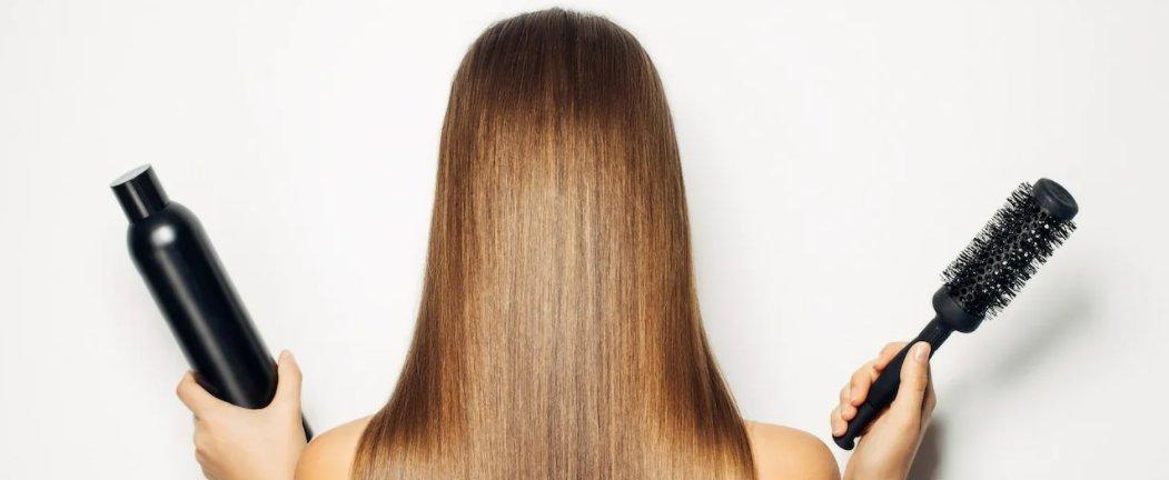 уход за волосами банер